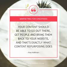 quotes from letting ana go how to repurpose content to reach more people