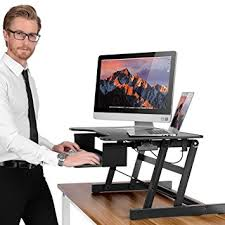 amazon com new height adjustable standing desk smonet healthy