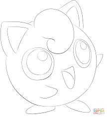 jigglypuff coloring page free printable coloring pages