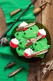 simple fishing cookies the bearfoot baker
