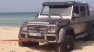 mercedes 6x6 wcf reader films mercedes benz g63 amg 6x6 towed after getting