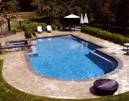 Inground Pool Ideas In Ground Cost The Types Designs Indoor