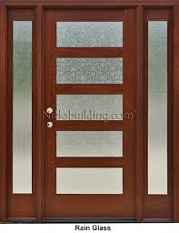 all glass front door craftsman style doors and sidelights