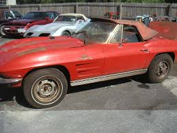 1963 corvette fuelie for sale 1963 fuelie corvette barn car discovered in an abandoned auto