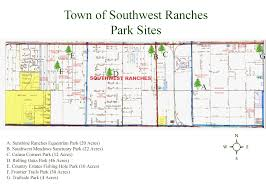 Sw Florida Map by Southwest Ranches Parks Southwest Ranches Florida