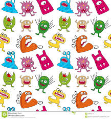 halloween white background halloween monsters seamless royalty free stock photography image