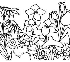 awesome flower garden coloring 79 additional coloring