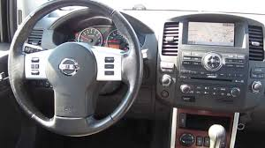 black nissan pathfinder 2008 nissan pathfinder black stock a3118a interior youtube
