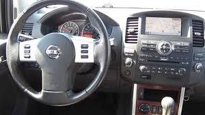 nissan pathfinder black 2008 nissan pathfinder black stock a3118a interior youtube