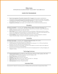 computer science internship resume sample science resume examples msbiodiesel us science resume examples amazing science resume examples to get computer science resume sample