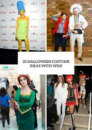 Simpsons Family Halloween Costumes by 20 Halloween Costume Ideas With Wigs Styleoholic