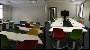 new active learning spaces created for teaching u0026 training