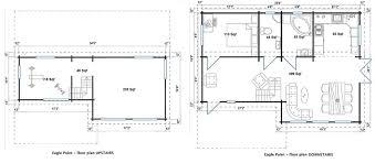 cottage style house plan 3 beds 2 5 baths 1492 sq ft plan 450 1 allwood eagle point 1108 sqf kit cabin amazon floor plans