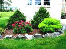 Rock Garden Designs For Front Yards Garden Design Rock Ideas New Front Yard Landscape With Rocks For