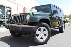 used jeep wrangler az 2010 jeep wrangler unlimited 4x4 stock p1170 for sale