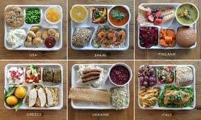 what school lunches look like around the world lunches school