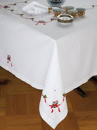 dining room tablecloths candy cane fine table linens bring the joy of the season to
