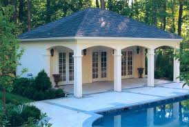 yard small pool house floor plans best house design cool small