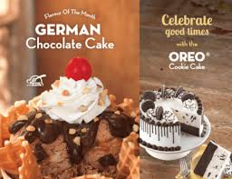baskin robbins canada coupons buy one get one 50 off german cake