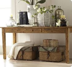101 Best Pottery Barn Decorating Remodelaholic 25 Ways To Decorate A Console Table