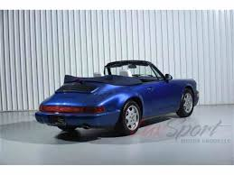 porsche 964 cabriolet for sale 1991 porsche 964 carrera 2 cabriolet for sale classiccars com