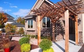 Curb Appeal Front Entrance - no porch no problem
