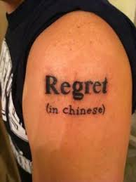 lost in translation regrets worst tattoos and tattoo fails