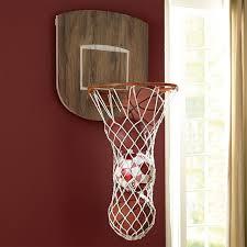 Basketball Room Decor Sports Wall Organization Basketball Hoop Pbteen