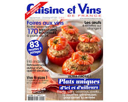 cuisines et vins de cuisine et vins de coffret cadeau bongo magazines journaux