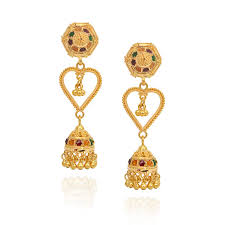 gold earrings design with weight gold earrings designs with weight jhumki earrings india gold