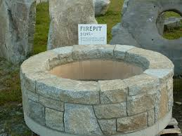 Granite Fire Pit by Outdoor Firepits Thermotech Masonry