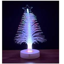amazon com fiber optic led tree home u0026 kitchen