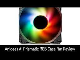 best fan on the market best budget rgb fans on the market anidees ai prismatic rgb fan