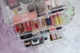 acrylic makeup storage u2013 zara mcintosh