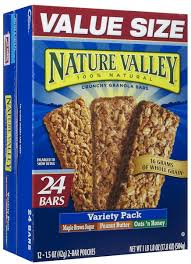 Amazon Com Quaker Chewy Granola Bars Variety Pack 58 Count by Nature Valley Crunchy Granola Bars Variety Pack 0 17 8 Oz
