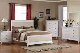 size victoria beige leather solid wood white master bed frame