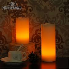 home decorative led romantic candle candlelight dinner bougies et