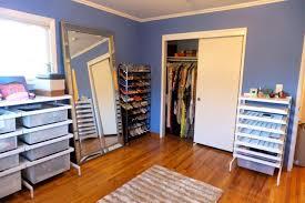 a walk in closet organizing dream bella organizing san