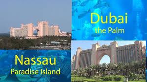 atlantis resorts bahamas vs dubai day visitors view hd youtube