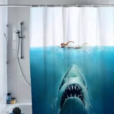 Shark Bedroom Curtains Interesting Shark Bedroom Curtains Designs With Shark Wall Hanging