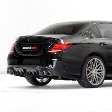 mercedes c class station wagon brabus carbon rear diffuser mercedes c class sedan