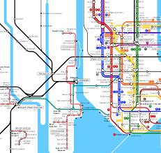 Map Nyc Subway Subway Map New Jersey