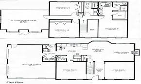 outstanding house 2 floor plans ideas best image engine
