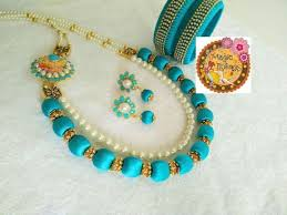 choker necklace handmade images 46 best handmade silk thread choker necklace set images on jpg