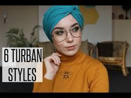 tutorial hijab nabiilabee 6 turban styles with chiffon scarves nabiilabee youtube