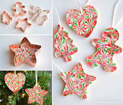 gingerbread ornaments melted peppermint candy ornaments christmas candy ornaments