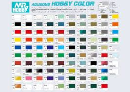 aqueous hobby colors chart by kayo7 on deviantart