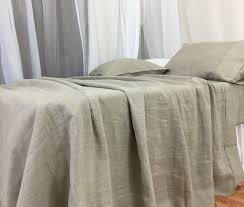 dark linen bed sheets handcrafted by superior custom linens