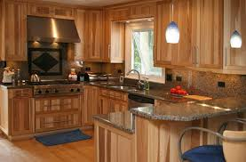 Rustic Kitchen Cabinets Hickory Kitchen Cabinets Online Hickory Kitchen Cabinets To
