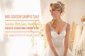 wedding dress sale london mid season bridal sle sale 2014